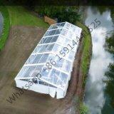 防水明確な屋根の結婚式のテント透過屋外党おおい