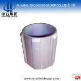 Corpo sólido de alumínio tampa rígida centralizadora