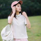 El algodón de alta calidad de la mujer Polo Shirt