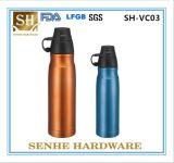 Frasco de vácuo de aço inoxidável de 500 ml com revestimento de metal (SH-VC03)