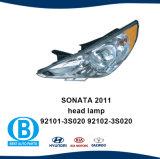 Farol 92102-392101-3s020 s020 para a Hyundai Sonata 2011