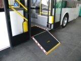 Manual de rampa plegable Silla de Ruedas en autobús con el certificado del CE