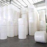 중국 공장 Virgin는/돋을새김한 엄청나게 큰 롤 화장지 종이를 재생했다