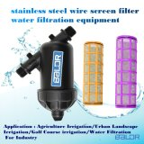 Filtro de pantalla de alambre de acero inoxidable tipo /Y Bsf040ys equipo de filtrado de agua de riego