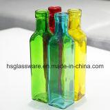 De vierkante Kleurrijke MiniVaas van het Glas