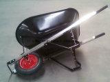 Carrinho de mão de roda de borracha Wb6601 do Wheelbarrow do trole do carro da ferramenta de jardim
