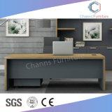 Tamaño grande Muebles de oficina escritorio ejecutivo con mesa de café (CAS-MD18A23)