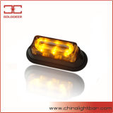 Het amber LEIDENE Lichte Hoofd van de Waarschuwing (sL623-s-Amber)