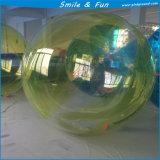 Bola inflable material del agua de TPU y del PVC con el certificado del Ce para la venta