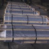 ニップルが付いているアーク炉に使用するUHP/HP/Npの等級のUltralの高い発電カーボングラファイト電極