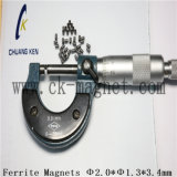 Ck-226 Imanes de ferrita de sinterizado Φ 2.0*Φ 1.3*3,4 mm