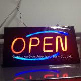 Venta caliente Joyas de LED de alto brillo LED sign signo abierto
