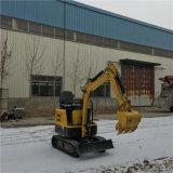 Sale를 위한 최신 Sale Mini Crawler Excavator 1000kg Farm Machine
