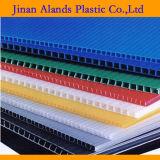 Folha de PP oco coloridos Coloplastic de papelão ondulado em plástico Alands
