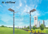 Lithium Battery Solar Powered LED Street Light with MPPT To control