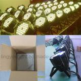 DMX RGB 3in1 54X3w 동위 64 단계 LED 점화