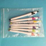 Crayon lecteur de bille en plastique d'approvisionnement avec le point de 0.7mm
