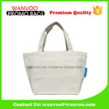 Pure Color Thicken 115g Algodão Canvas Storage Tote Shpping Bag