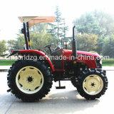 Quatro rodas motrizes tipo Paddy 70HP Trator Agrícola