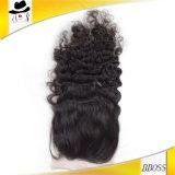 Fermeture des cheveux en 3.5X4 Fermeture en dentelle brésilienne
