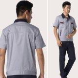 Uniforme fait sur commande d'ouvrier d'ingénieur de vêtements de travail de Professsional de chemise de circuit de coton
