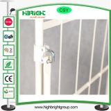 4 Tür-faltbares Metallabmontierbarer Lager-Walzen-Behälter