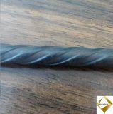 A baixa espiral de alta elasticidade do abrandamento marcou o fio de aço do PC de 8mm para a construção