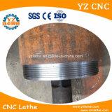 Flaches Bett metallschneidend und Belüftung-Rohr-Gewinde CNC-Drehbank