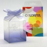 Pet PVC caixa transparente para o perfume Embalagem pequena caixa de oferta