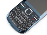 L'original pour Nokya C3-00 déverrouillé clavier azerty Bluetooth Bar Mobile Cell Phone