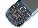 Original para Nokya C3-00 Unlocked Bluetooth Qwerty Keypad Bar Celular