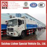 Véhicule d'ordures de décharge de véhicule de déchets comprimé par Tianjin de Dongfeng de camion de compacteur d'ordures