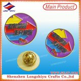 Diseño personalizado del OEM de la junta de metal de aleación de sello distintivo de pin