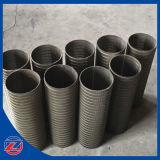 Wasser-Vertiefungjohnson-Typ Stahl rastert Rohr