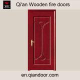 Porte intérieure Thermique-Isolée intérieure de porte en bois de placage de chêne