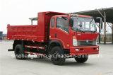 중국 160HP Sinotruk Cdw 10t 가벼운 덤프 트럭 디퍼 트럭