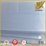 lo strato rigido trasparente spesso del PVC di 3mm con il doppio parteggia pellicole del PE