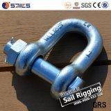 Wir Typ Schraube G2150 galvanisierten geschmiedete Stahlfesseln