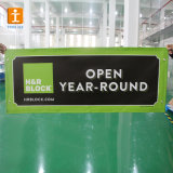 GrommetsのカスタムPrinting Size Outdoor Vinyl Fence Mesh Banners