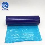 Commerce de gros de 40 microns Film de protection bleu pour la fenêtre de verre/miroir