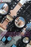 Pneumatischer durchgehender Rohr-Messer-Absperrschieber mit Anschluss Pn10