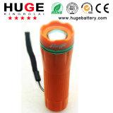 электрофонарь 4.5V1w портативный цветастый СИД ---Пластичный факел (4.5V 1W)