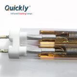 Onda Média da lâmpada de infravermelhos de tubo duplo para a máquina de impressão