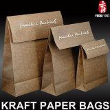 Bolso europeo de Starbuck de la bolsa de papel de Kraft