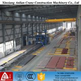 Top di bassa potenza Roof Traveling Electric 2 Ton Single Beam Girder Overhead Bridge Crane da vendere