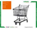 店の記憶装置のための新しいデザイン金属のショッピングトロリーカート
