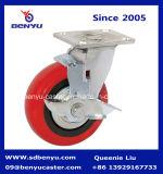 Rotella rossa dell'unità di elaborazione della rotella girevole della parte girevole placcata zinco arcuato resistente