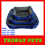 Basi dell'animale domestico del gatto del cane di stile stampate osso (WY161062A/C)