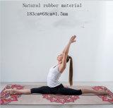 Stuoia naturale di yoga della pelle scamosciata del reticolo su ordinazione all'ingrosso