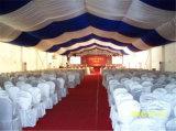 كبير رومانسيّ عرس فسطاط خيمة لأنّ 500 الناس مع كنيسة واضحة [ويندووس]